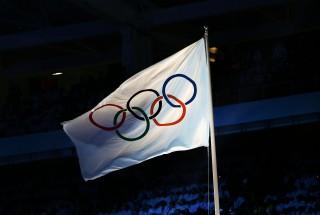 olimpiai zászló (olimpiai zászló)