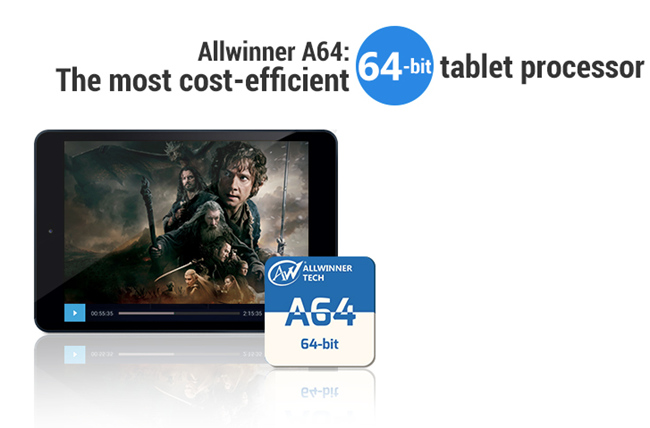 tn-a64 (technet, allwinner, chipset, soc, memória, processzor, android, tablet)