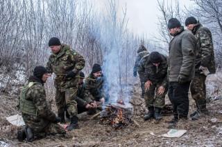 ukrán katonák debalcevében (katona, ukrajna, debalceve)