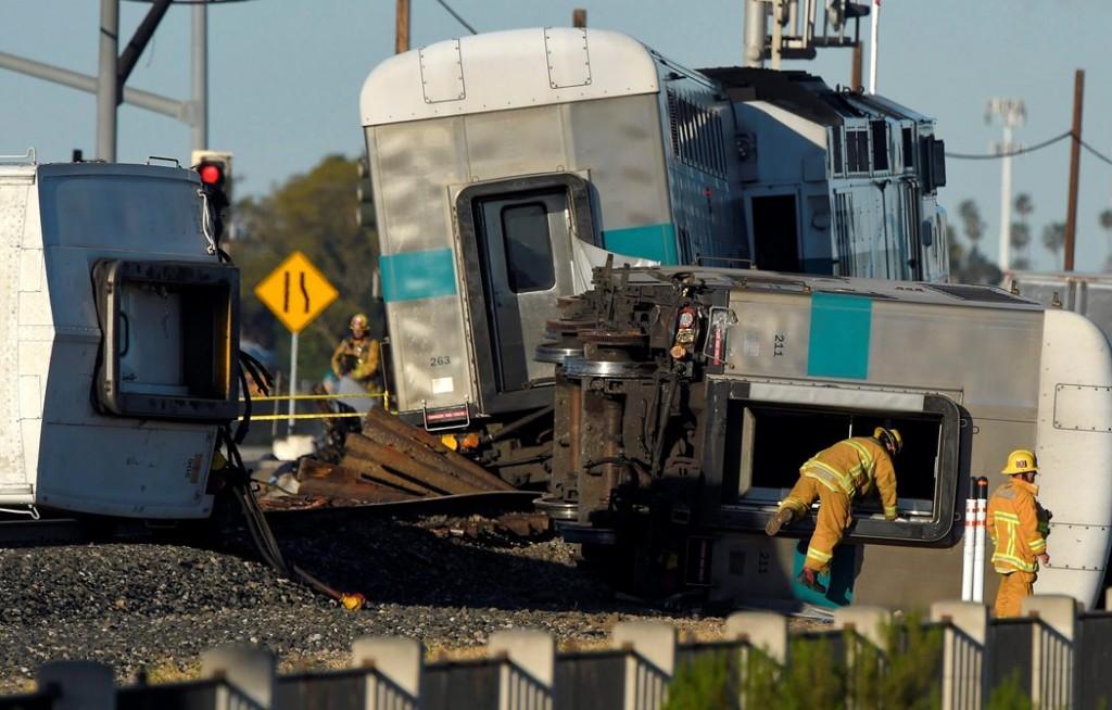 vonatbaleset kaliforniában (vonatbaleset, kalifornia)