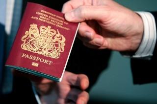 Brit útlevél (útlevél, )