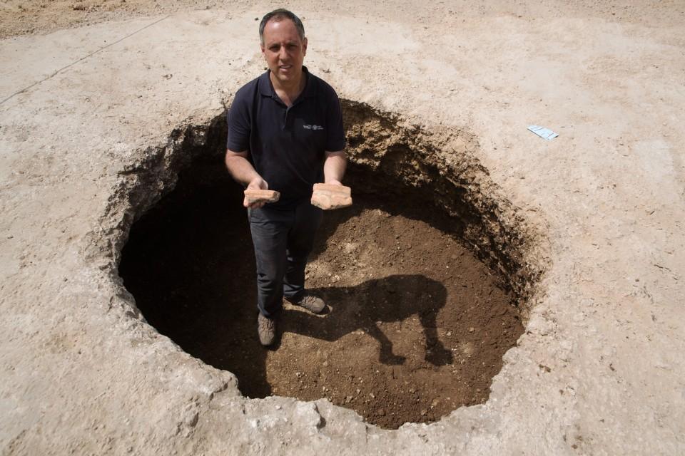 Diego Barkan (diego barkan, izrael, ásatás, sörfőzde, )