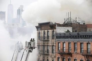 Gázrobbanás Manhattanben (gázrobbanás)