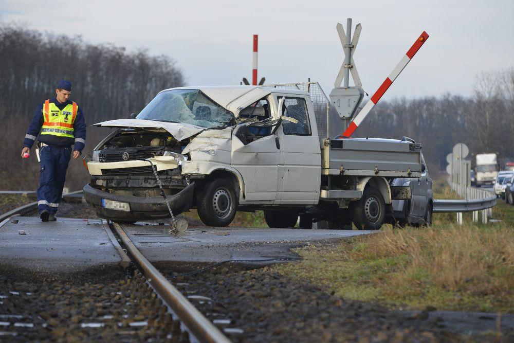 Halálos baleset Nyíradonynál (baleset, )
