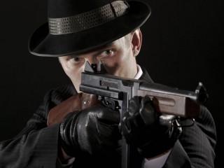 Maffia (maffia, gyilkos, fegyver, gépfegyver, gengszter, )