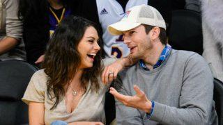 Mila Kunis és Ashton Kutcher (mila kunis, ashton kutcher, )