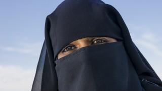 Muszlim feleség (muszlim, csador, )
