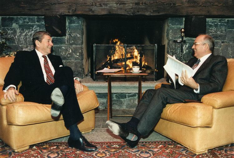 Reagan és Gorbacsov (gorbacsov, reagan)