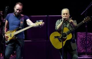 Sting és Paul Simon (sting, paul simon, )