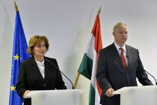 Trócsányi László, és Szekér Judit, miniszteri biztos (végrehajtók, szekér judit)