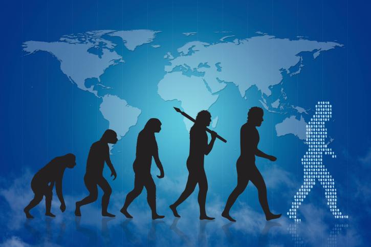 evolúció (evolúció, fejlődés, genetika, )