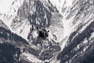 germanwings, lezuhant repülő (germanwings, lezuhant repülő, helikopteres keresés)