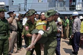 mianmari hajókatasztrófa (mianmari hajókatasztrófa)
