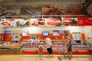 orosz szupermarket (oroszország, szupermarket)