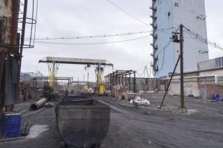 zaszjagykói szénbánya (bánya, ukrajna)