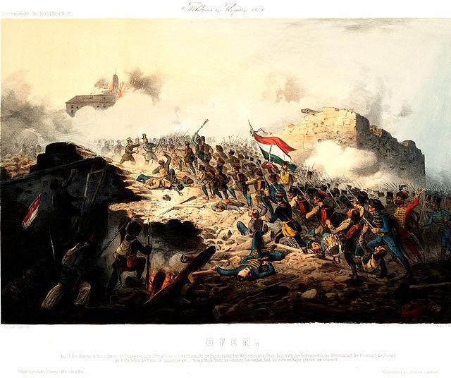 Buda visszavívása (1848-as forradalom és szabadságharc, )