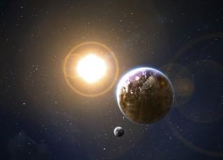 Föld és Nap (föld, nap, )