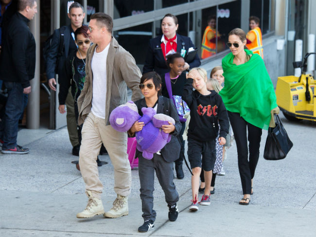 Jolie-Pitt család (angelina jolie, brad pitt, jolie-pitt)