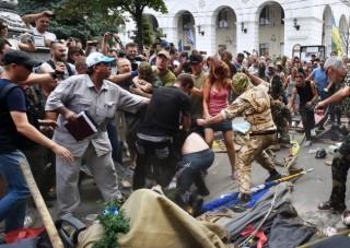 Majdan (majdan, kijev, barikádok, tüntetők)