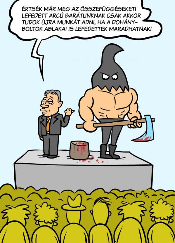 Orbán és a teljes lefedettség (gróf balázs, képregény, képregény, )