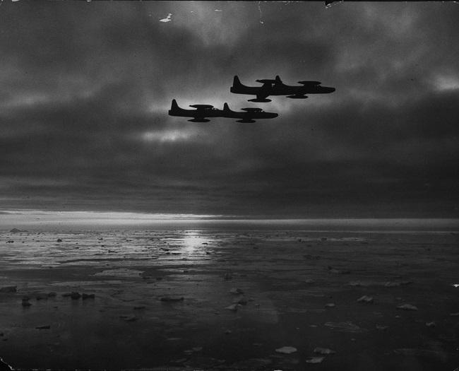 Thule légibázis járőr (grönland, repülőgépek, )