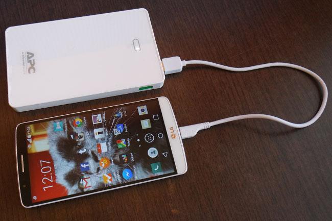 apc-tolto-03 (technet, apc, mobiltelefon, okostelefon, telefon, tablet, töltő, mobiltöltő, úti töltő, power pack, mobile power pack, teszt, )