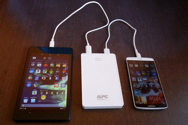 apc-tolto-04 (technet, apc, mobiltelefon, okostelefon, telefon, tablet, töltő, mobiltöltő, úti töltő, power pack, mobile power pack, teszt, )