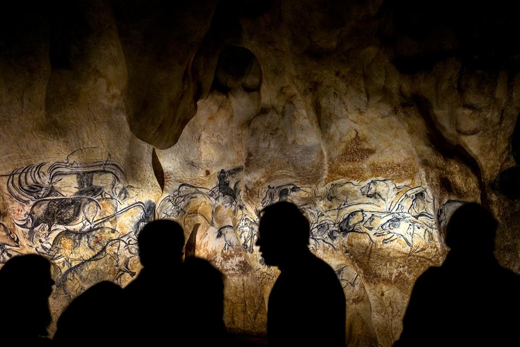 chauvet 4 (barlang, őskor, franciaország,)