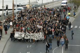 elte tüntetés (elte, tüntetés, )