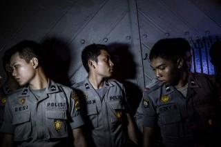 indonézia rendőr (indonézia rendőr)