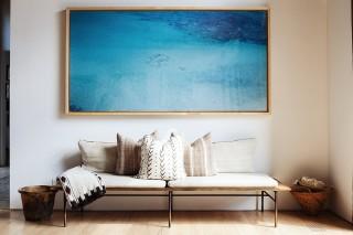 nagyméretű festmény (festmény, kanapé, )