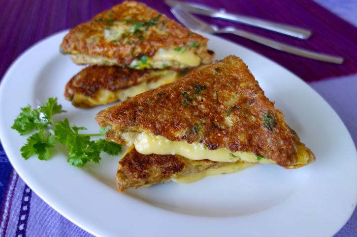 sajtos melegszendvics (szendvics, )