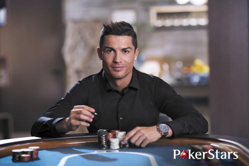 Cristiano Ronaldo a PokerStarsnál (Array)