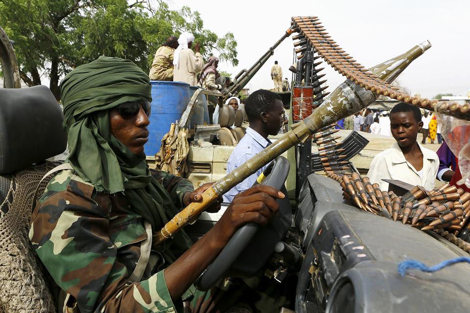 Darfur, Szudán (Array)