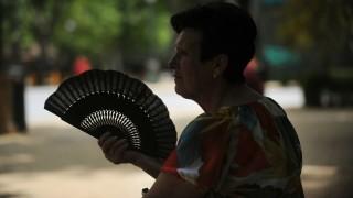 Hőség Spanyolországban (Array)