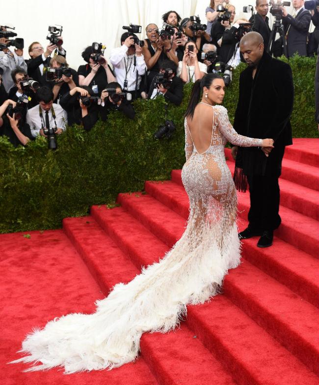Kim Kardashian és Kanye West (Array)