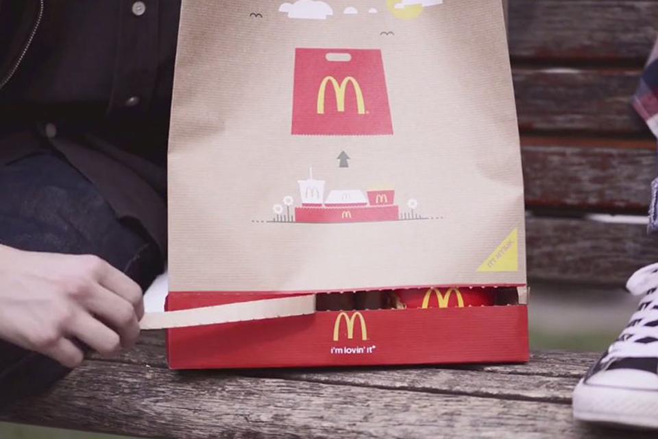 McDonalds zacskó, magyar találmány (Array)
