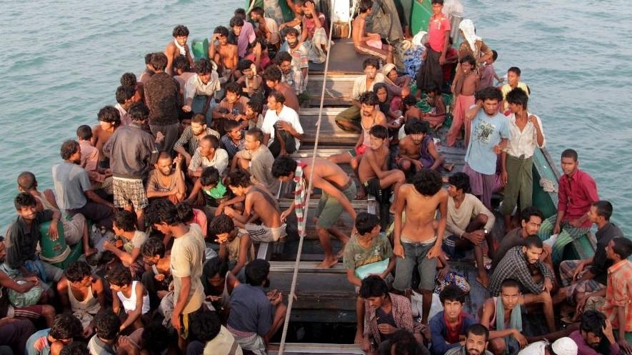 Menekültek Indonéziánál (Array)