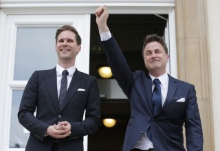 Miniszterelnöki melegházasság Luxemburgban (Array)