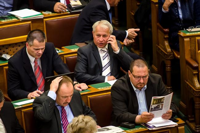 Parlament, unalom (Array)