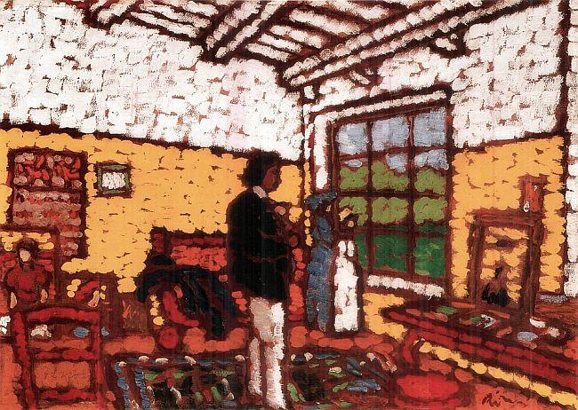 Rippl Rónai - Stúdió Kaposváron (Array)
