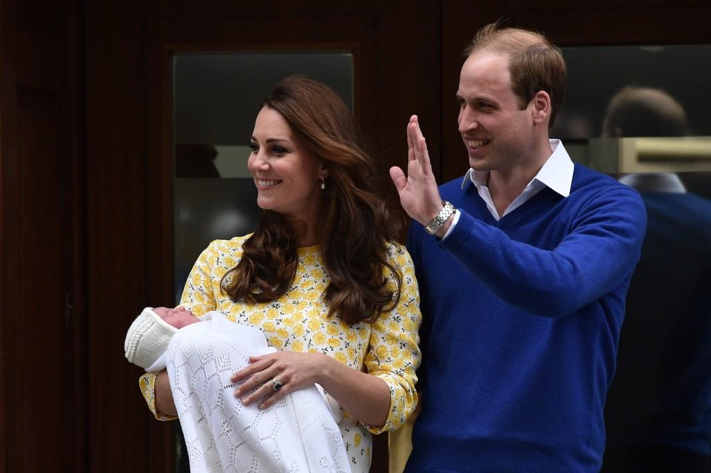 Vilmos és Katalin és royal baby (Array)