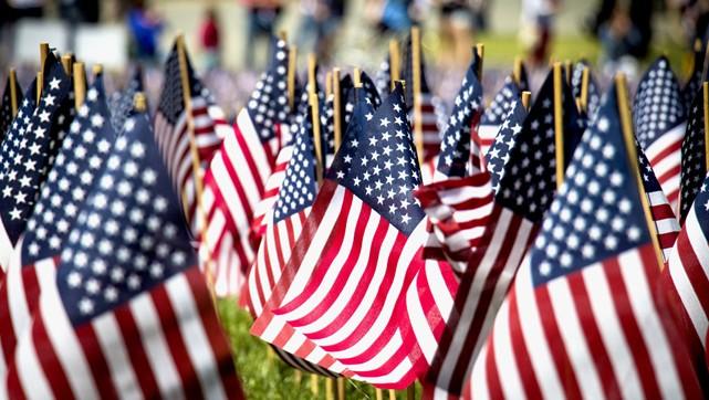amerikai zászló (Array)