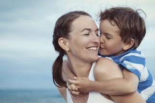 anya, gyermek, kisfiú (Array)