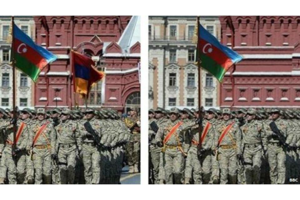 azeri fényképhamisítás (Array)