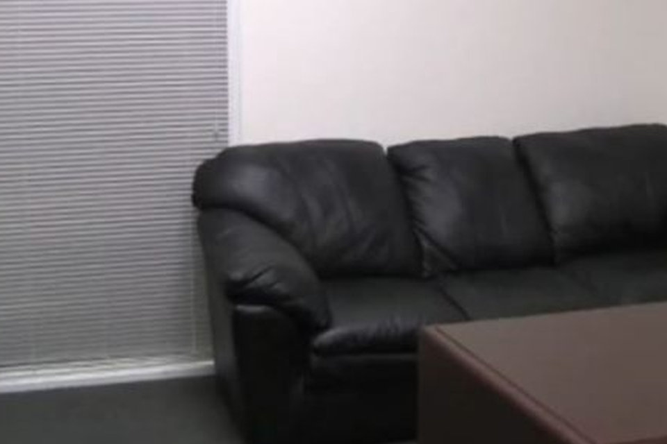 a pornó casting kanapé
