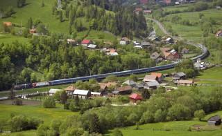 csíksomlyó, vonat (Array)
