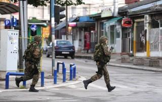 macedón rendőrök (Array)
