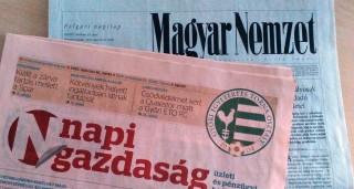 magyar nemzet, napi gazdaság (Array)
