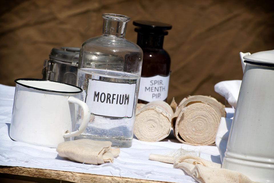 morfin, ópium, gyógyszerészet (Array)